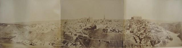 Toledo en 1858. Panorámica de Louis Léon Masson