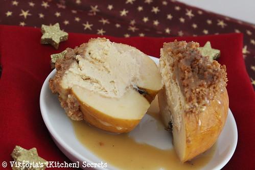 Cheesecake im Bratapfel, Viktoria's [Kitchen] Secrets