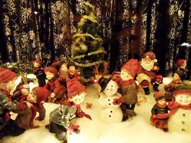 Spaß im Schnee an Weihnachten
