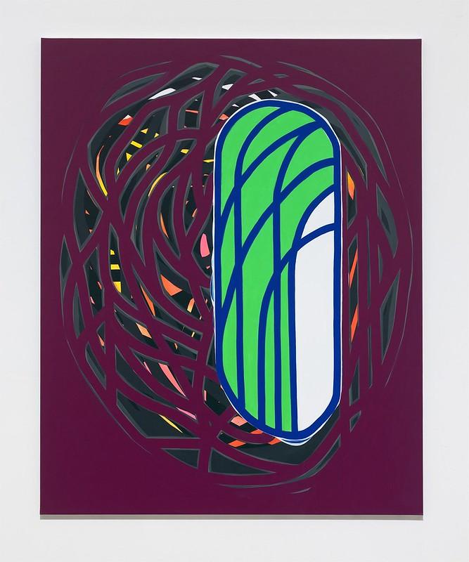 Soo-Kyoung Lee Bordeax Acrylic 162x130cm 2014
