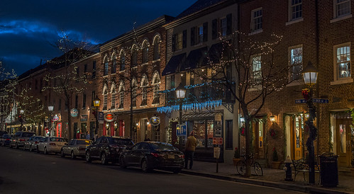 Holiday Lights in Old Town, Alexandria by Geoff Livingston