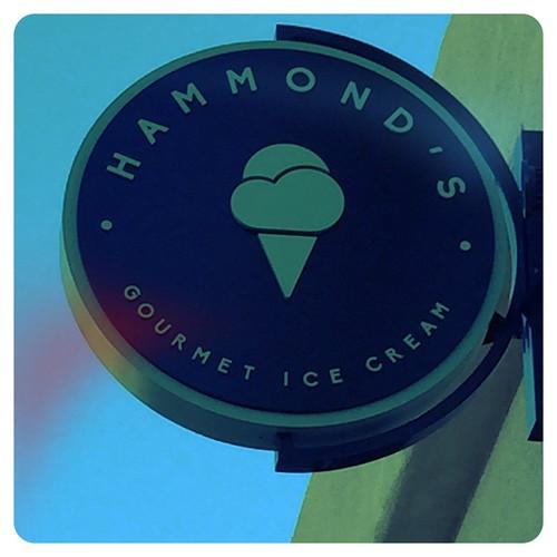 Hammond's ice cream