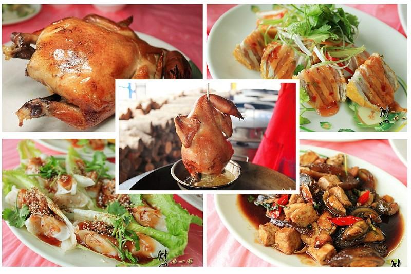[南投竹山紫南宮美食] 陳記甕缸雞古早味鄉土料理餐廳~肉甜鮮美