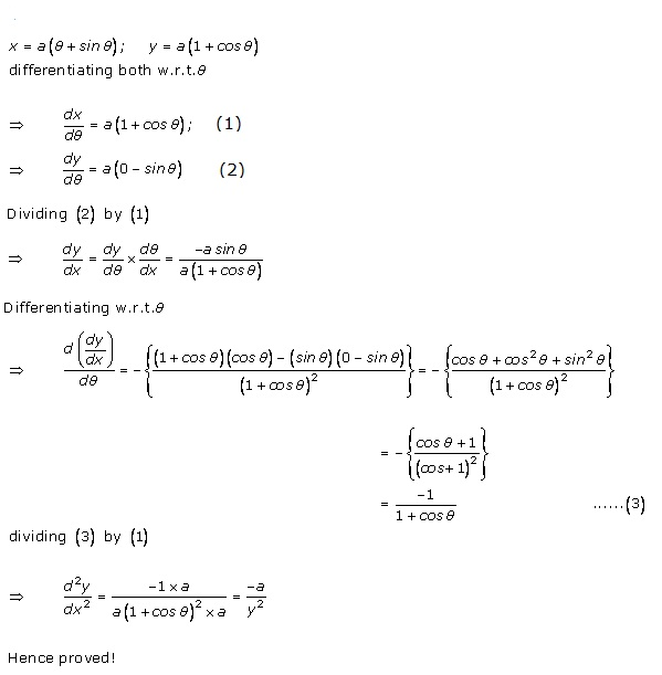 RD Sharma Class 12 Solutions Chapter 12 Higher Order Derivatives Ex 12.1 Q13-i