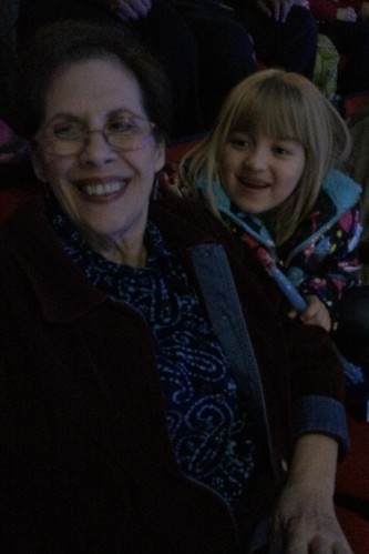 Mimi and Catie at Frozen on Ice