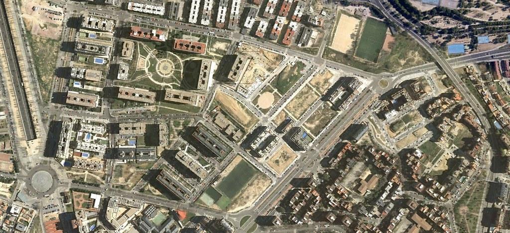 cerro belmonte, peñagrande, madrid, rebeldía cubana, MB38, después, urbanismo, planeamiento, urbano, desastre, urbanístico, construcción, rotondas, carretera