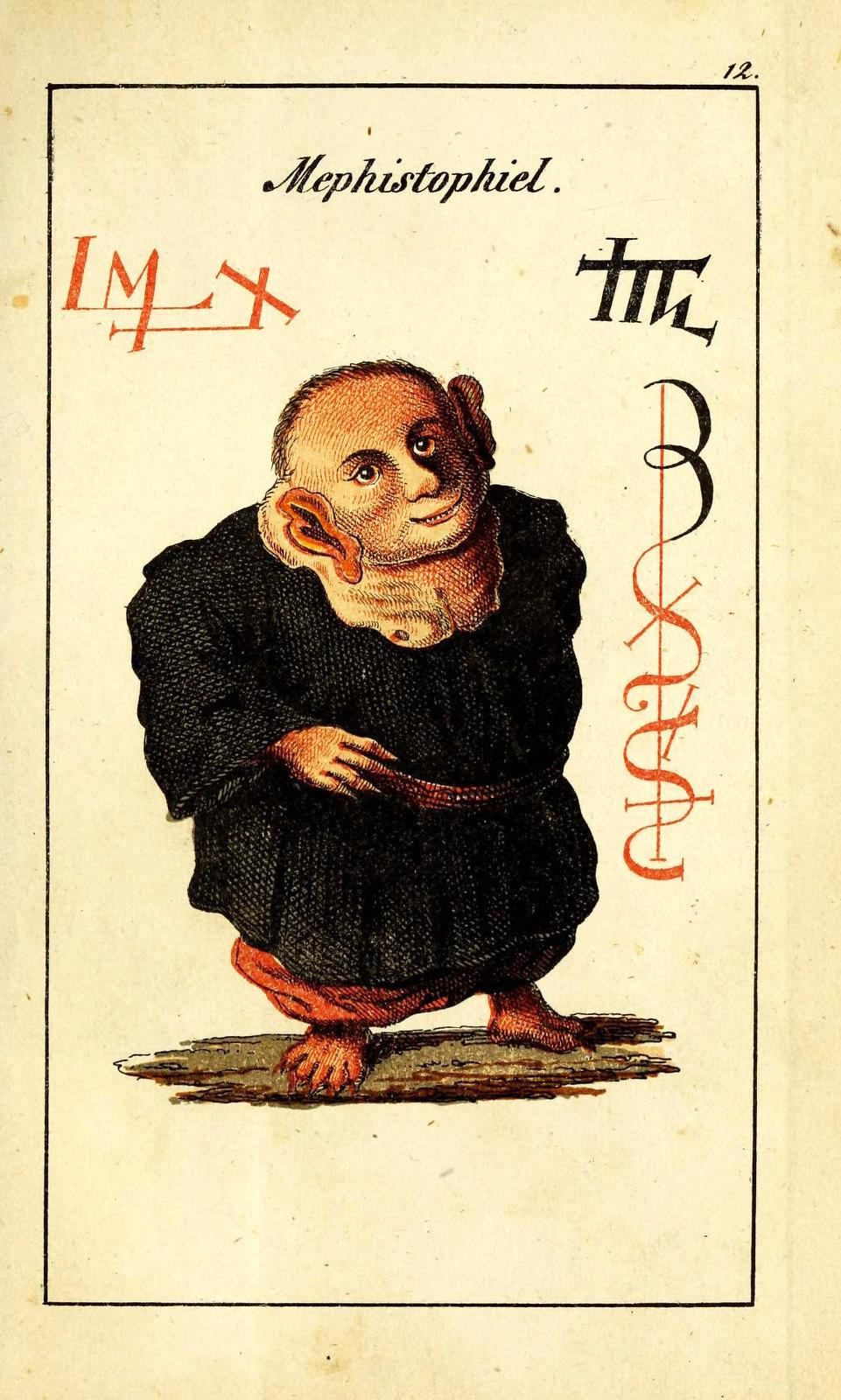 Johann Scheible - Doktor Johannes Faust's Magia naturalis et innaturalis, 1849 (16)