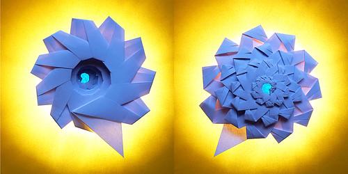 Origami Fractal Spiral (Denver Lawson)