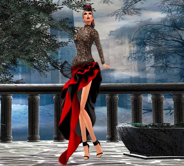.Dead Dollz. Tanguera Dress for MissVArgentina2015