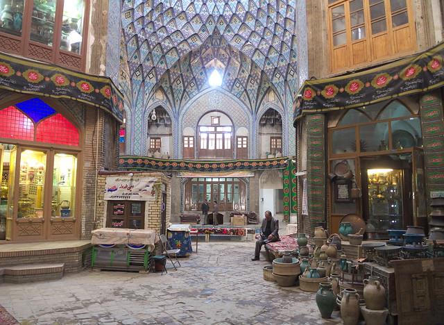 Basar in Kashan