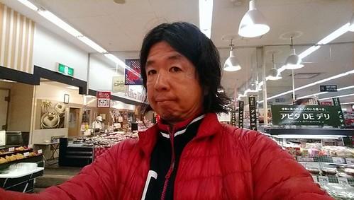 Tagged! オフクロ連れてスーパーに買い物。