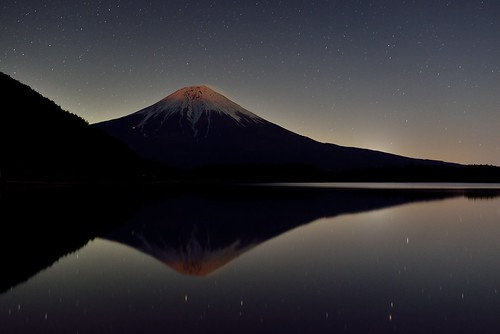 fujisan 富士山 mtfuji 田貫湖 紅富士