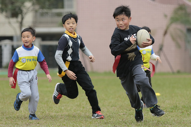 Taipei Angry Bird Youth Rugby Club Practice