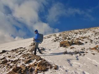 Josh Climbing Mt. Elbert