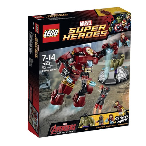 LEGO Marvel Super Heroes 76031 Box