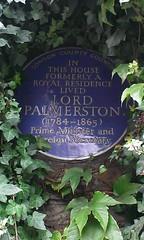 Photo of Henry John Temple Palmerston blue plaque