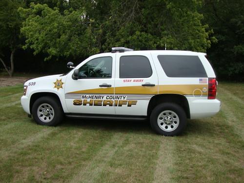 McHenry Sheriff SUV Vinyl Graphics