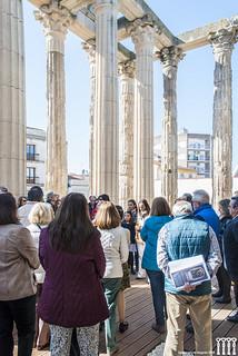 Imagem de Templo de Diana. españa badajoz museo visita mérida extremadura excursión patrimonio templodediana visigodo patrimonioespañol hispanianostra turevent
