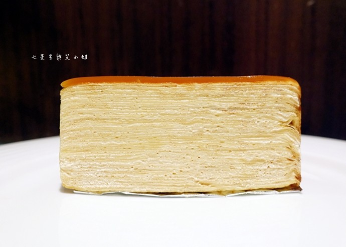 30 台南 深藍咖啡館 千層蛋糕