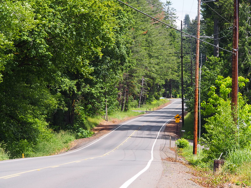 Elma–McCleary Road: Likely old US 410