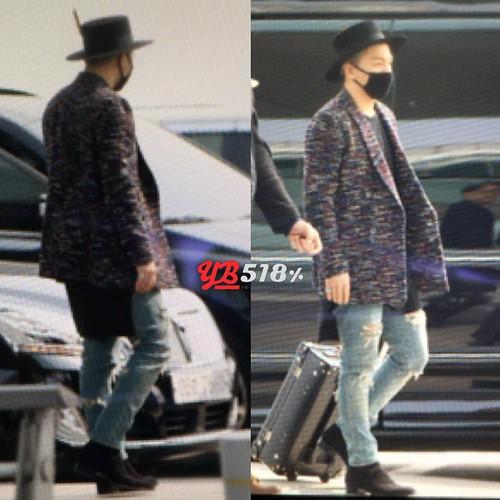 Big Bang - Incheon Airport - 21mar2015 - Tae Yang - YB 518 - 01