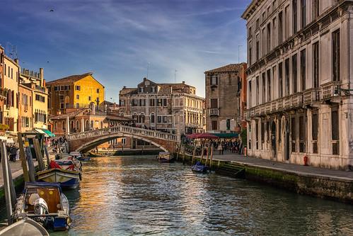 Venezia, canale di Cannaregio