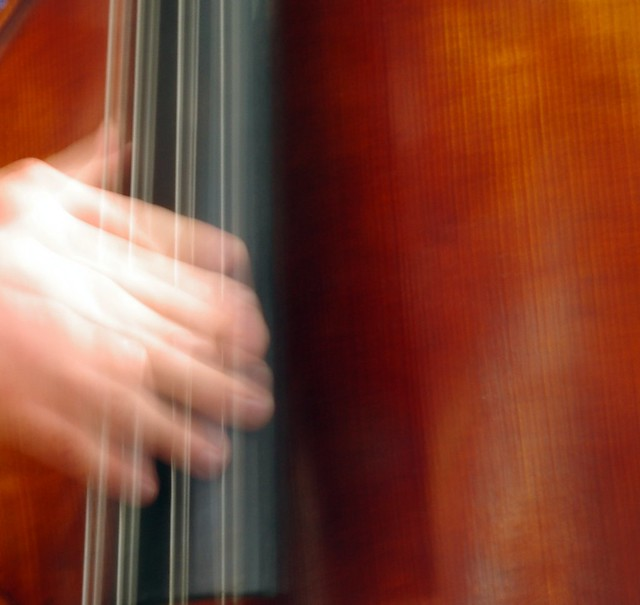 Double Bass Long Exposure Abstract