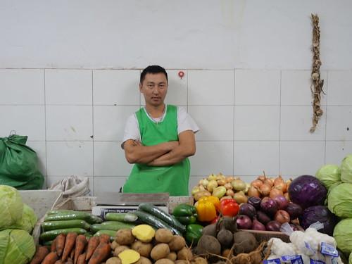 Au marché d'Oulan Bator