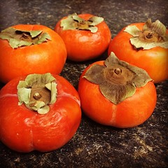 diospyros, produce, fruit, food, persimmon,