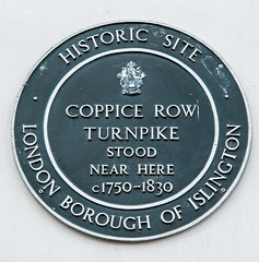 Photo of Coppice Row Turnpike green plaque