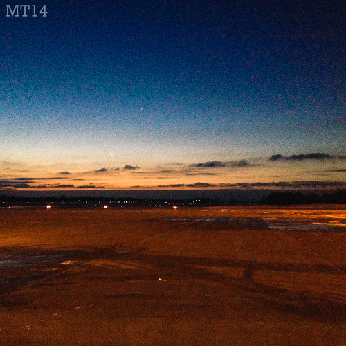 morning moon ontario canada london tarmac sunrise dawn early airport matthew international colourful runway iphone 2014 trevithick yxu matthewtrevithick mtphotography instagram
