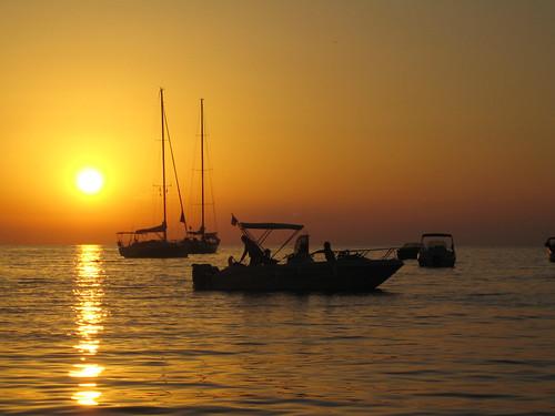 Sunset at Cala Tuent (Mallorca, Spain)