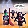 #LEGO #TrickOrTreat #Halloween #Witch #Dracula #Vampire #Bat #LEGOhalloween #SpookifyYourSet @lego_group @lego