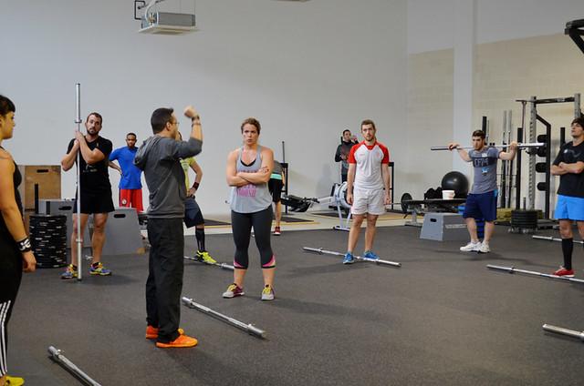 visita y wod en CrossFit Zaragoza