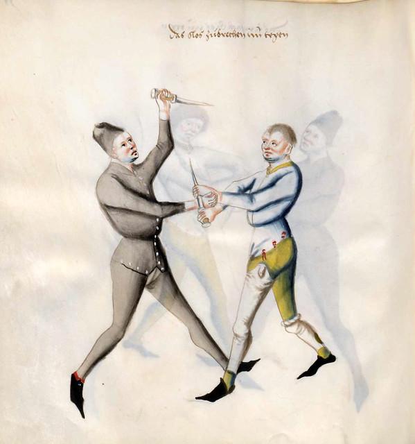 015-Kal Paulus Fechtbuch gewidmet dem Pfalzgrafen Ludwig- BSB Cgm 1507- Bayerische StaatsBibliotehek