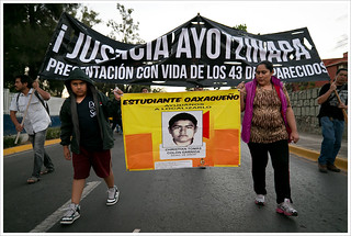 Accion Global por Ayotzinapa @ Oaxaca
