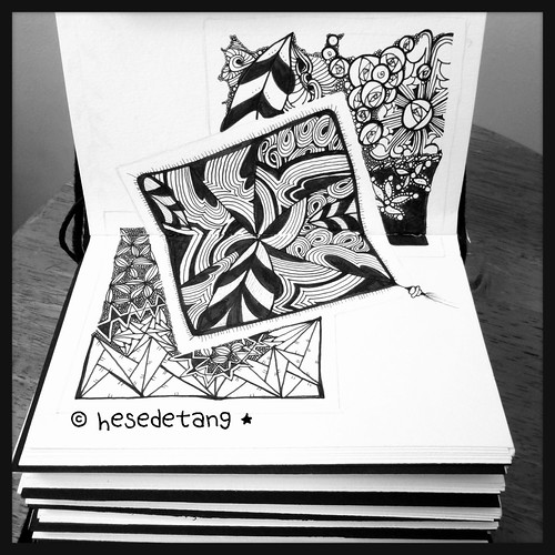 Zentangle Inspired Art