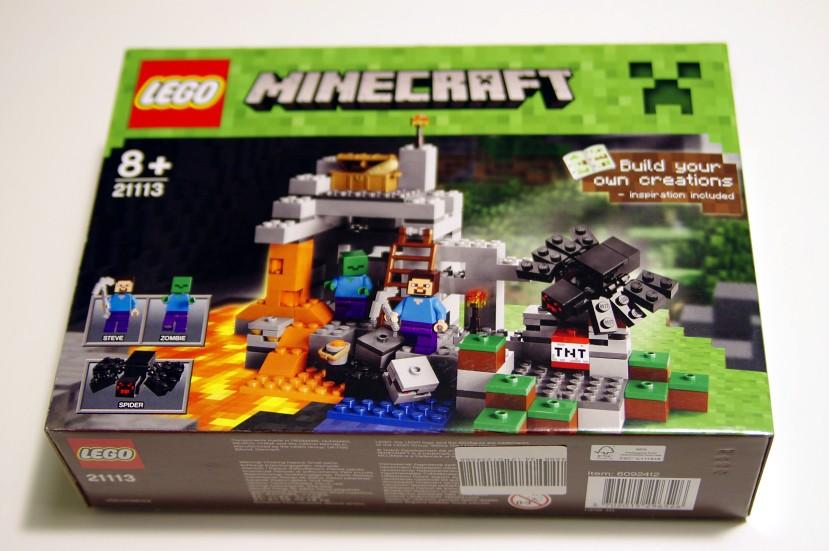 21113 lego minecraft la grotte de lego. Black Bedroom Furniture Sets. Home Design Ideas