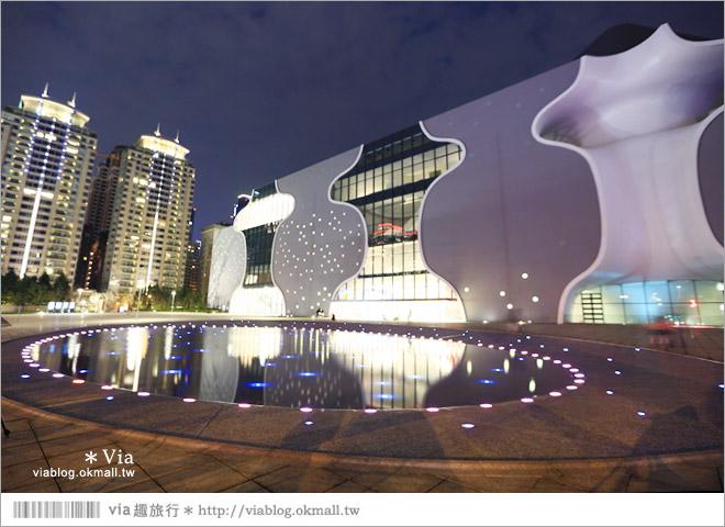 【大都會歌劇院】台中國家歌劇院~夜間水舞篇。光舞紀/光影藝術節2