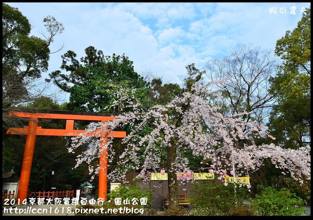 2014京都大阪賞櫻自由行.圓山公園DSC_9931