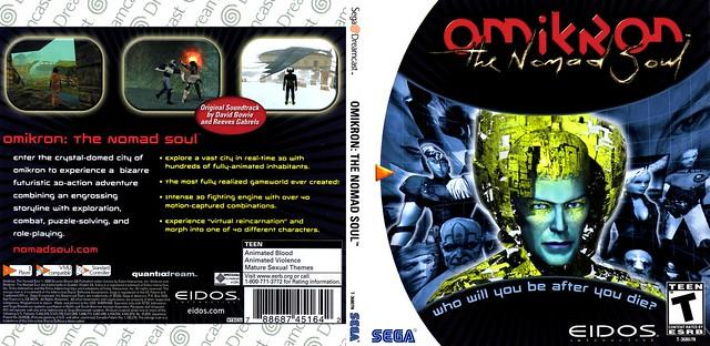 Omikron - The Nomad Soul (Eidos Interactive) [NTSC-U]
