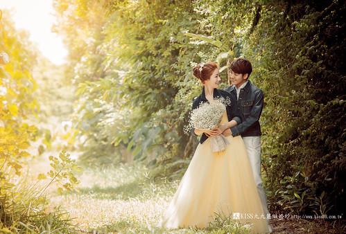高雄KISS九九麗緻婚紗韓風婚紗攝影分享