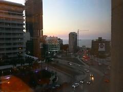 Beyrouth la nuit, depuis l'hotel (3)