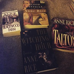 Thank you!!! :smile::grin::yum: @trishclinern  #giddy #books #annerice #vampirechronicles #mayfairwitches
