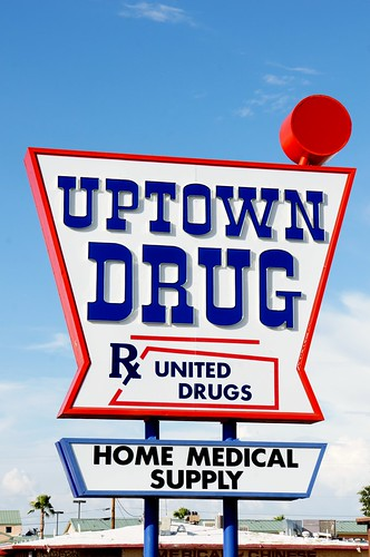 Uptown Drug & Medical Supply, Route 66, Kingman, Arizona