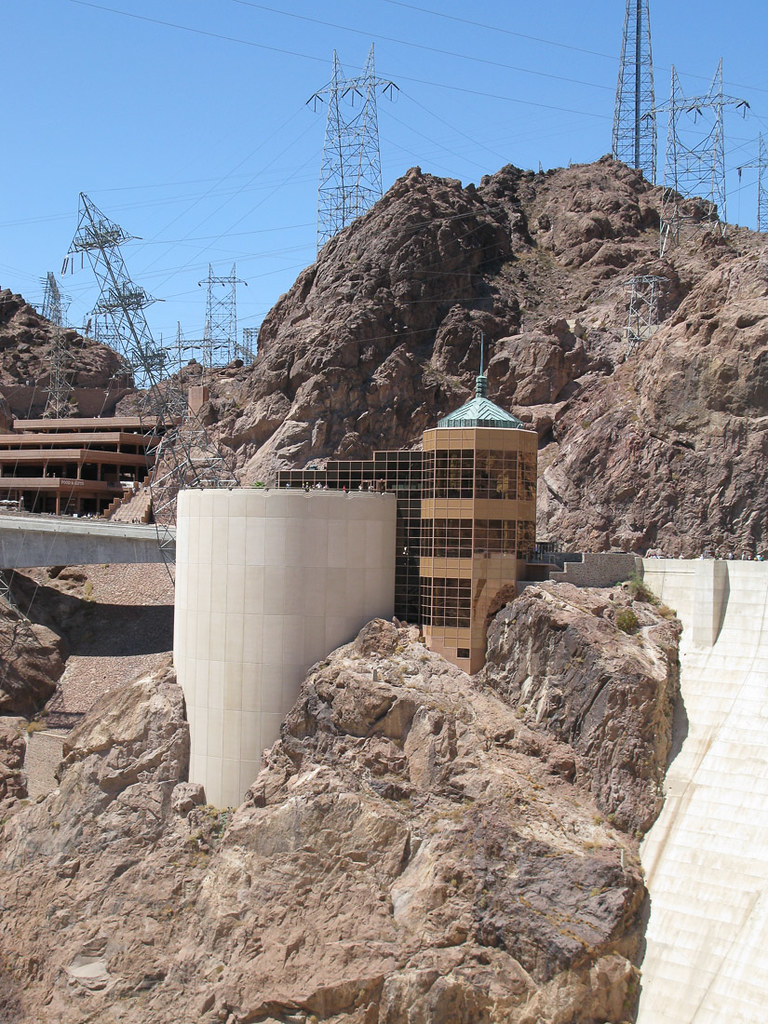 Outside the Visitor's Center at the Hoover Dam