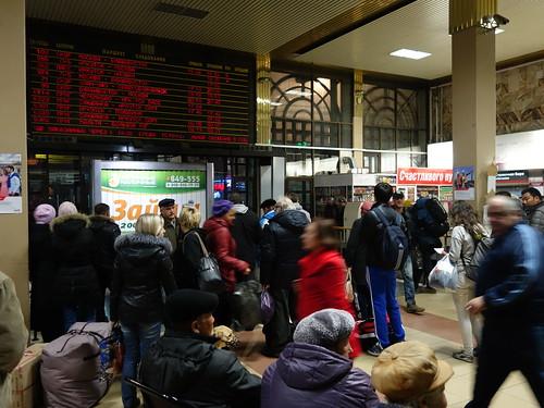 En attendant le train