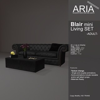 [ARIA] Blair mini Living SET (Adult) at Uber!