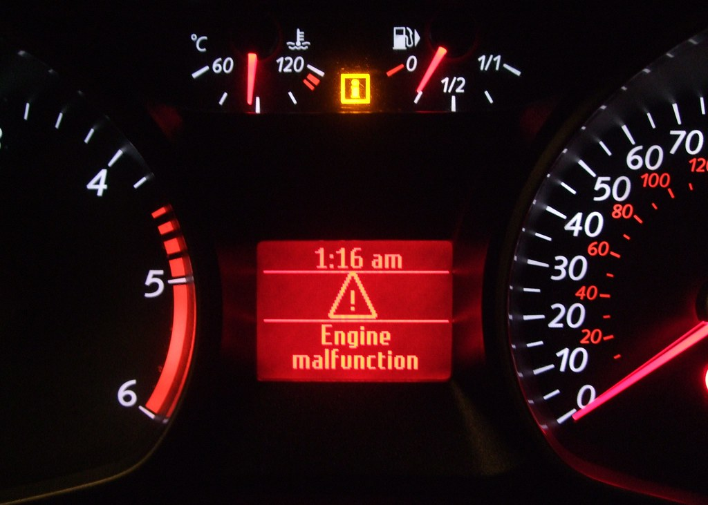 2007 2014 Ford Mondeo Engine Malfunction Warning Message