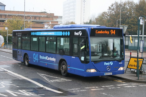 First Beeline 64020 on Route 94, Bracknell Bus Station
